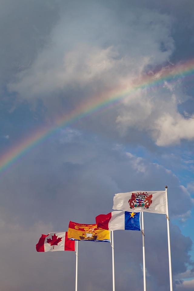 Rainbow in Shediac